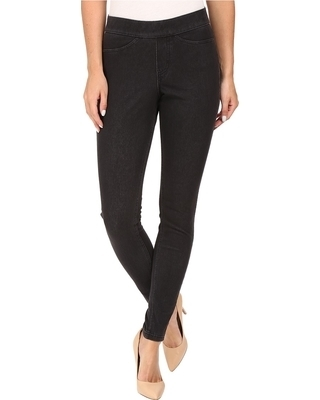 Hue Curvy Fit Denim Leggings Black