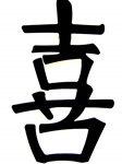 """Happiness"" Chinese Character"