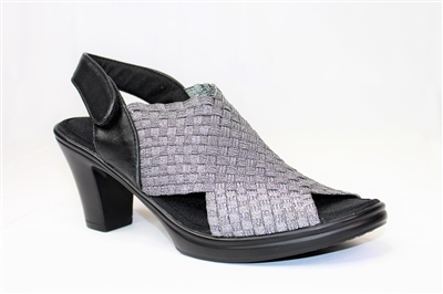 Bernie Mev Beatrice Pewter Sizes 36 38 40