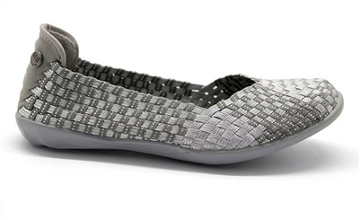 🌞 NEW! Bernie Mev Catwalk Silver Grey Sizes 36-40
