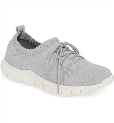 Bernie Mev Plush Light Grey Silver