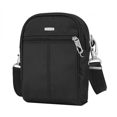 Travelon Anti-Theft Classic Small Convertible Tour Bag Black