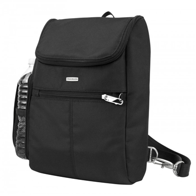 Travelon Anti-Theft Classic Small Convertible Backpack Black