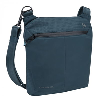 Travelon Anti-Theft Active Small Crossbody Bag Teal