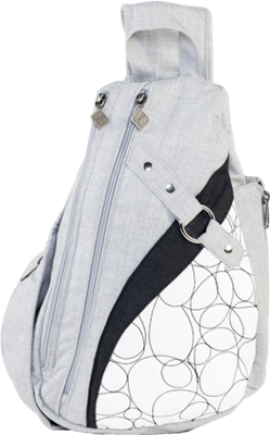 Jak's Lacolle Quilted Sling Daypack Grey