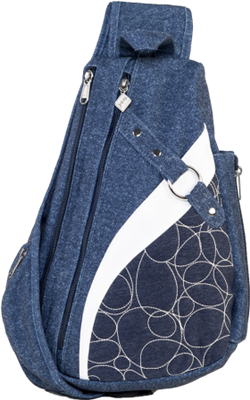 Jak's Lacolle Quilted Sling Daypack Navy