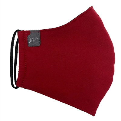 Face Mask Unisex Adult Jak's Silk Red