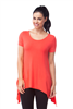 Bamboo Tunic Short Sleeve Christina