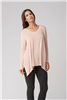 Bamboo Tunic Long Sleeve Pale Rose M