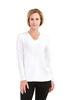 Bamboo Tshirt V Neck Long Sleeve
