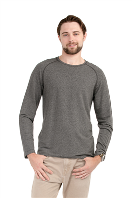 Bamboo Tshirt Men's Raglan Long Sleeve