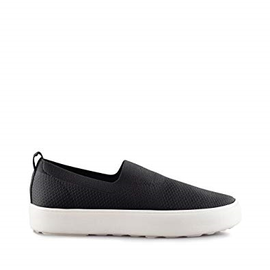 Cougar Hula Stretch Knit Slip On Shoe Black