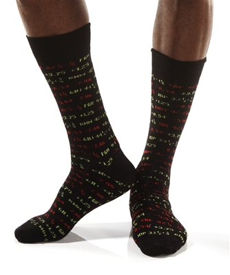 YoSox Socks Men's Crew Digital