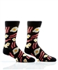 YoSox Socks Mens Crew Breakfast