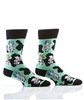 YoSox Socks Men's Crew Cows with Wigs