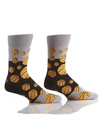 YoSox Socks Men's Crew Basketball