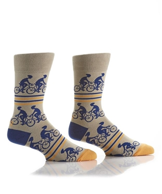 YoSox Socks Men's Crew Cycling