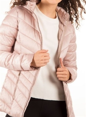 Point Zero Ultralight Quilted Packable Jacket Bloom XL