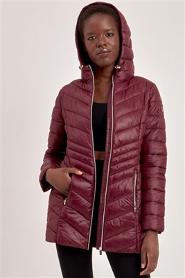 Point Zero Packable Quilted Jacket Fig