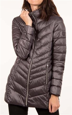 Point Zero Packable Quilted Jacket Fog