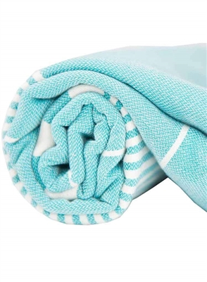 Turkish Towel Harem Turquoise