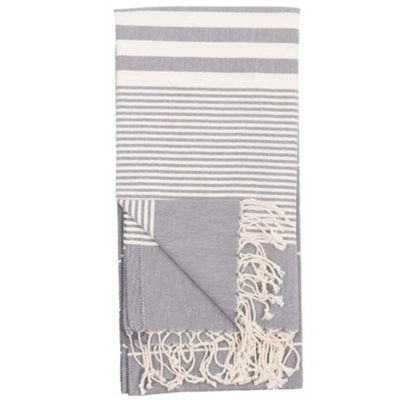 Turkish Towel Harem Slate