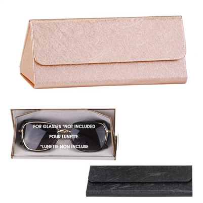 Foldable Sunglasses Case Gold