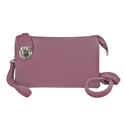 Convertible Clutch Crossbody Bag Lavender