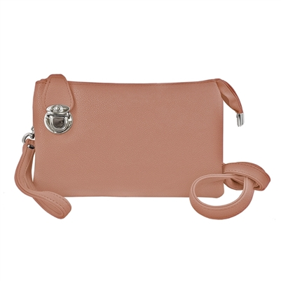 Convertible Clutch Crossbody Bag Melon