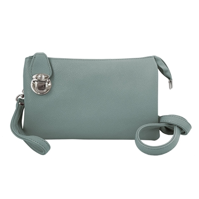 Convertible Clutch Crossbody Bag Mint