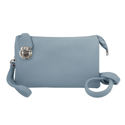 Convertible Clutch Crossbody Bag Sky