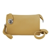 Convertible Clutch Crossbody Bag Yellow