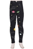 Brushed Soft Kids Leggings Outer Space - L/XL
