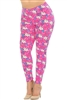 Pink Puppy Dogs Soft Leggings L/XL