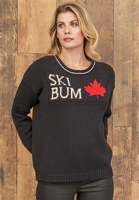 🍁 Cotton Canada Ski Bum Black M XL