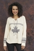 Cotton Canada Hockey Sweater Natural Grey