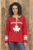 Cotton Canada Hockey Sweater Red White