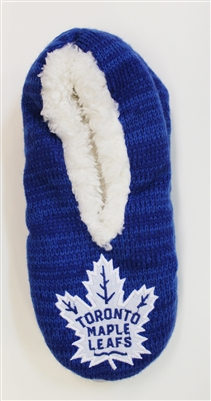 NHL Toronto Maple Leafs Slippers Blue