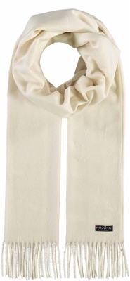Scarf Cashmink Solid Off White