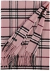 Scarf Cashmink Oversized Plaid Light Rose